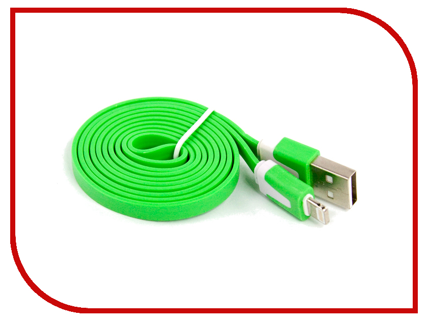 Аксессуар Liberty Project Кабель USB - Lightning Green SM000112