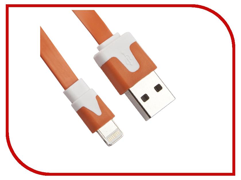 Аксессуар Liberty Project Кабель USB - Lightning Orange R0003903