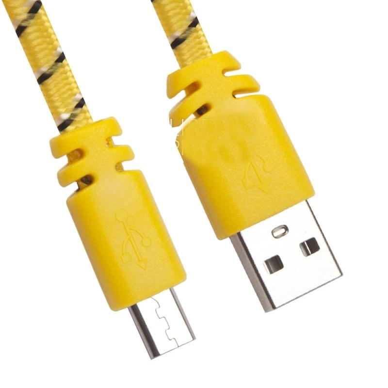Аксессуар Liberty Project USB - Micro USB 1m Yellow 0L-00030329 цена и фото