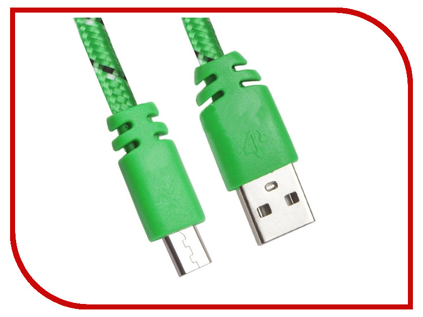 Фото - Аксессуар Liberty Project USB - Micro USB 1m Green 0L-00030331 tronsmart usb 2 0 male to micro usb cable 5 pack 0 3m 1m 1 8m