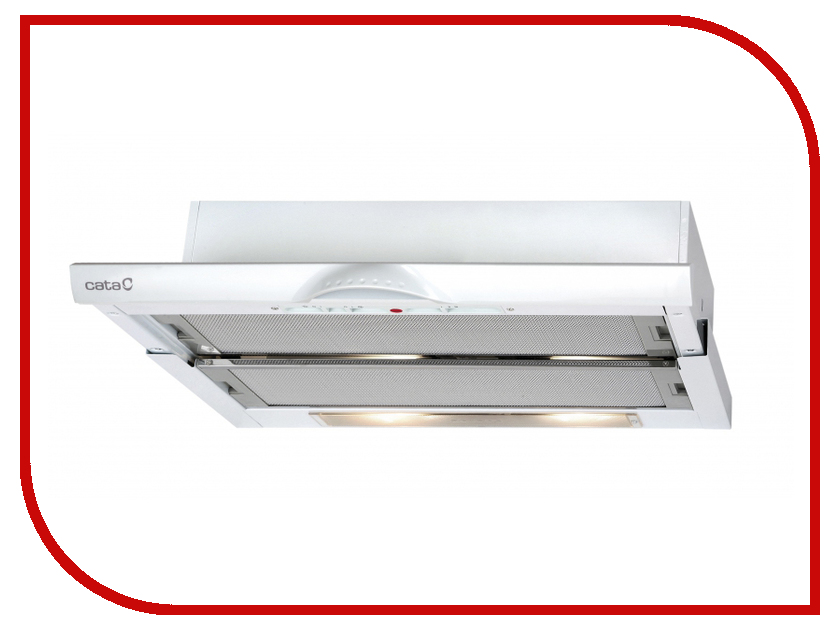 Кухонная вытяжка Cata TF 5060 WH/D встраиваемая вытяжка cata g 45 wh c