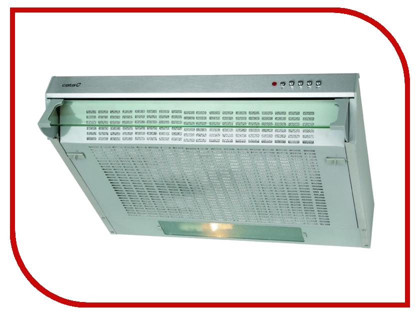 Кухонная вытяжка Cata F 2060 INOX/B вытяжка cata f 2050 inox b