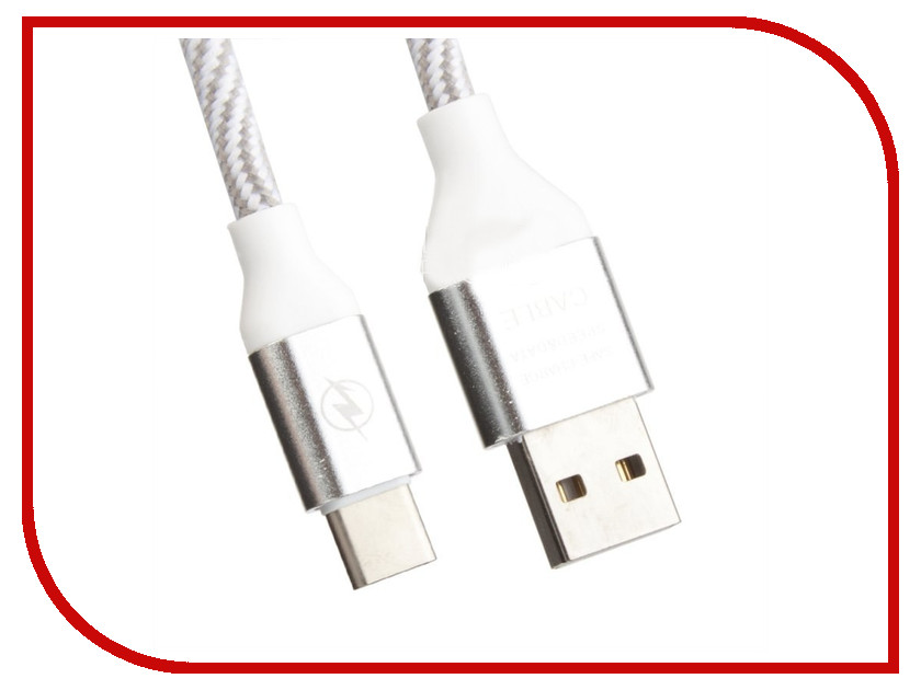 Аксессуар Liberty Project USB - USB Type-C Волны 1m Grey-White 0L-00033143 аксессуар greenconnect type c usb 3 0 1m gcr uc3am 1m gc uc3am 1m