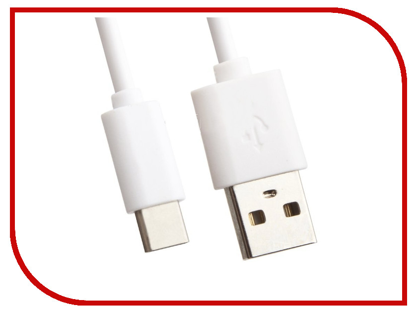 Аксессуар Liberty Project USB - USB Type-C 2m White 0L-00033024