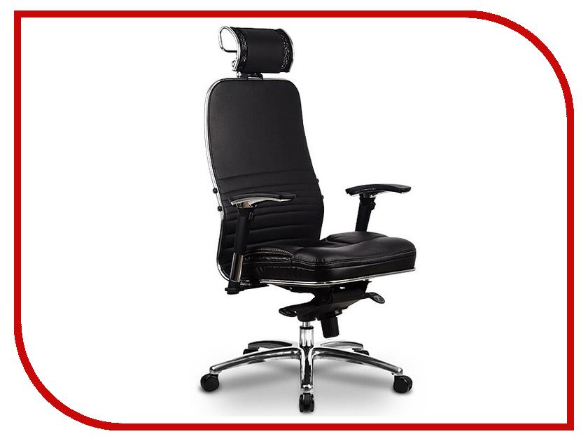 Компьютерное кресло Метта Samurai KL-3.02 Black с 3D подголовником