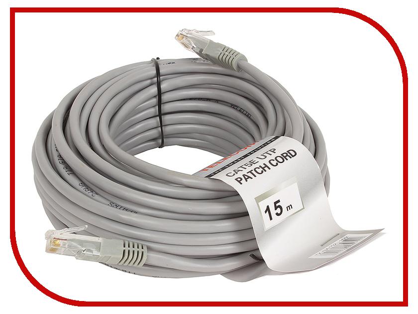 Сетевой кабель Telecom UTP cat.5e 15m Red NA102-R-15M supra cat 7 15m