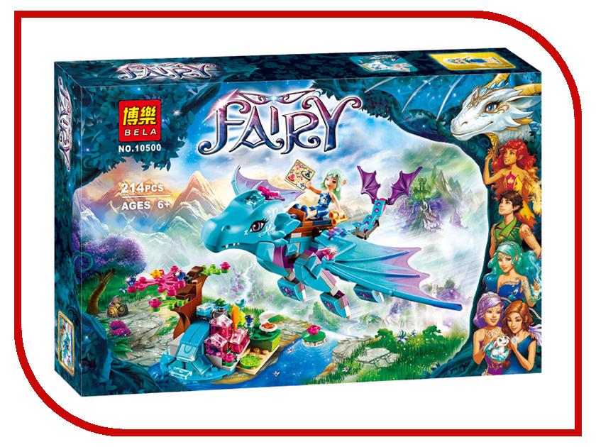 Конструктор Bela Fairy Приключение дракона воды 214 дет. 10500 конструктор bela disney ледяной замок эльзы 297 дет 10435