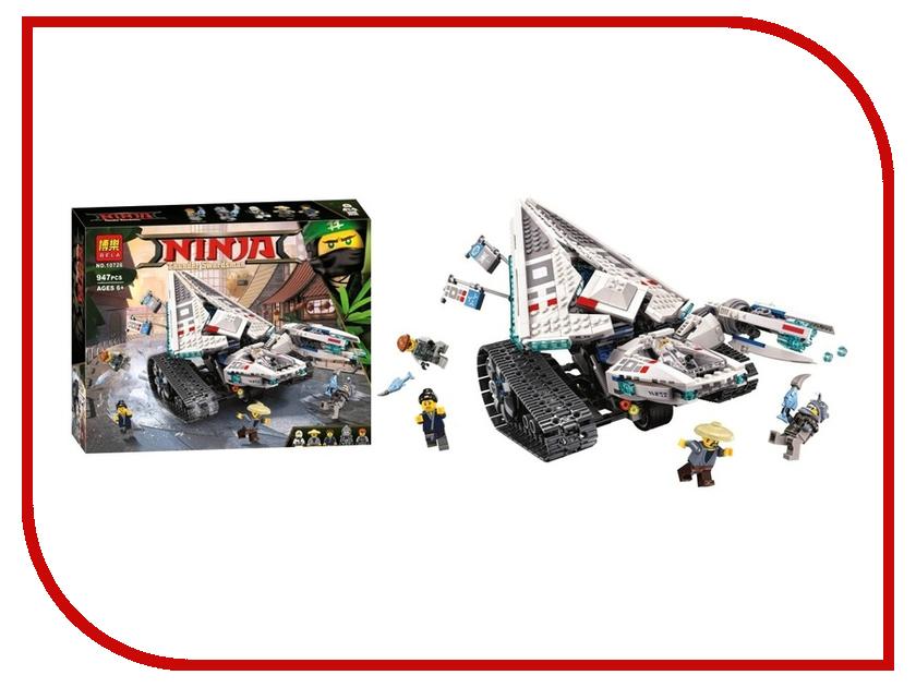 Конструктор Bela Ninja Ледяной танк 947 дет. 10726 конструктор bela disney ледяной замок эльзы 297 дет 10435
