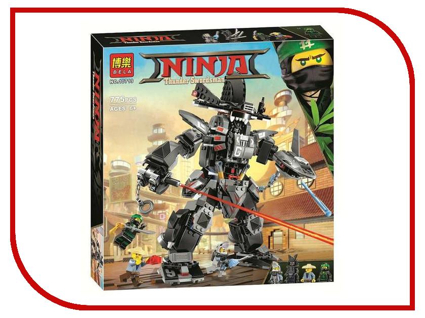 Конструктор Bela Ninja Робот Гарм 775 дет. 10719 конструктор bela ninja ниндзя сверхзвуковой рейдер 645 дет 31041