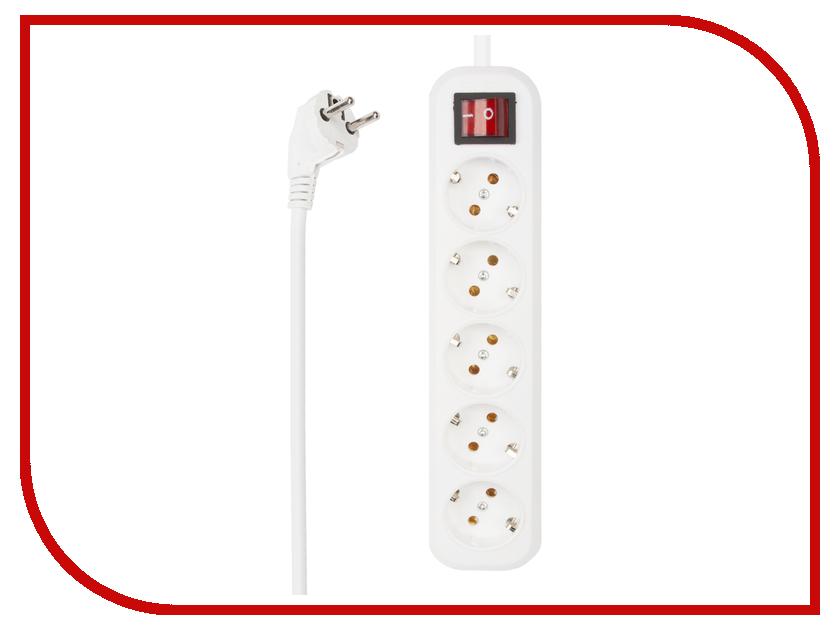 Сетевой фильтр Liberty Project 5 Sockets 2m White 0L-00032612