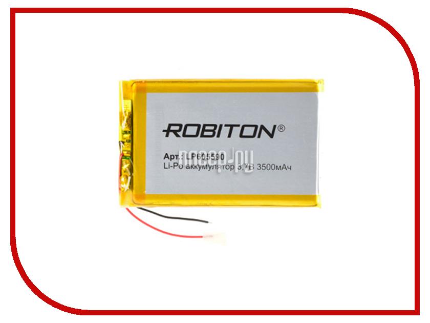 Аккумулятор LP605590 - Robiton 3.7V 3500mAh 14907