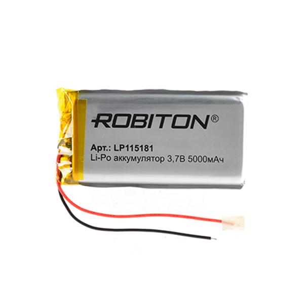 Аккумулятор LP115181 - Robiton 3.7V 5000mAh 14887 / LP5000-115181