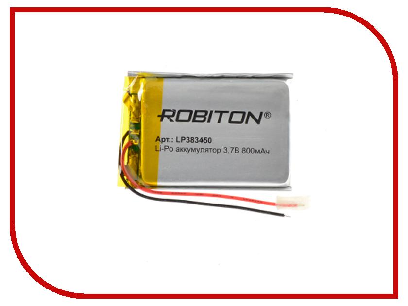 Аккумулятор LP383450 - Robiton 3.7V 800mAh 14890