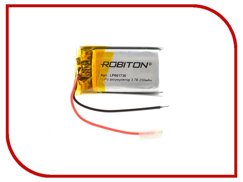 Аккумулятор LP601730 - Robiton 3.7V 250mAh 14902