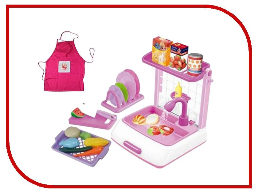 Игра Shantou Gepai Кухня Как у мамы White-Pink M6650-3 игра shantou gepai утюг pink white 948