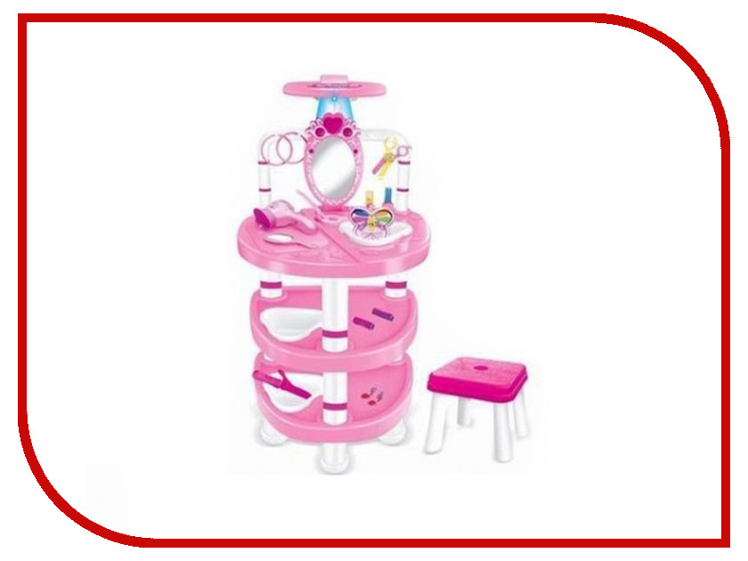 Игра Shantou Gepai Столик стилиста со стульчиком Y22944035 игра shantou gepai утюг pink white 948