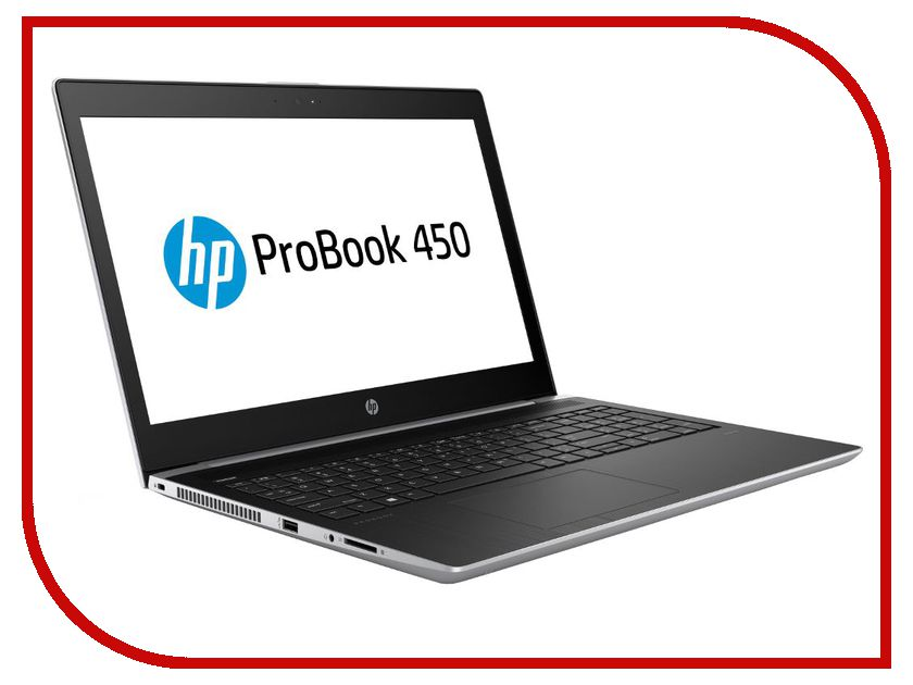 Ноутбук HP ProBook 450 G5 2VP38EA Silver (Intel Core i5-8250U 1.6 GHz/16384Mb/256Gb SSD/No ODD/Intel HD Graphics/Wi-Fi/Bluetooth/Cam/15.6/1920x1080/Windows 10 Pro)
