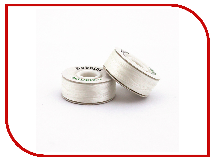 Набор ниток для швейных машин Madeira Bobbins №150 50шт White 80004 набор для ухода за кофемашинами siemens 576330 tz 80004
