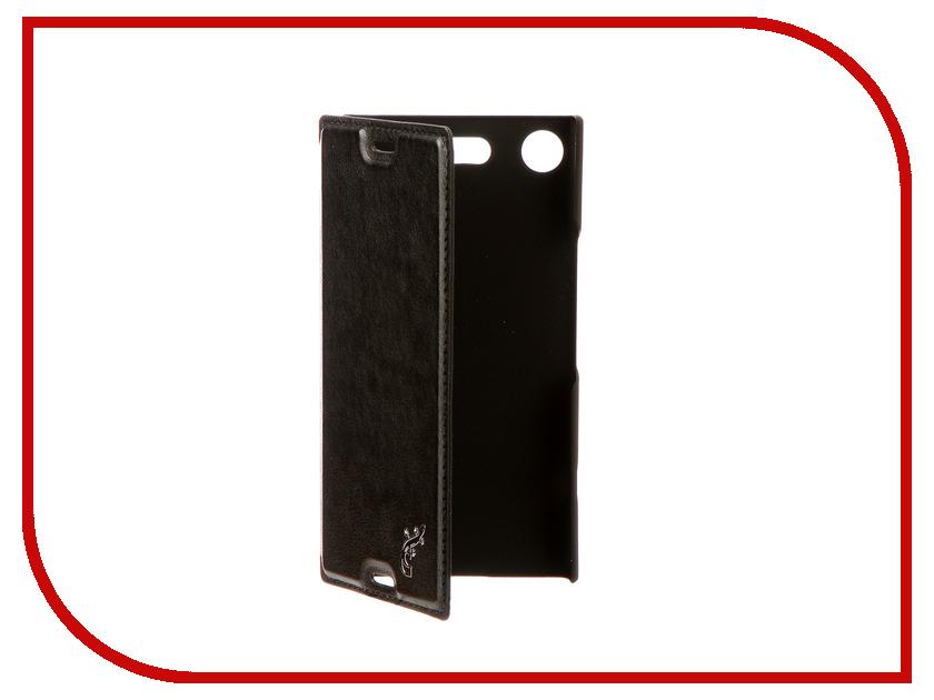 Аксессуар Чехол для Sony Xperia XZ1 Compact G-Case Slim Premium Black GG-905 g case slim premium чехол для apple iphone 7 plus black