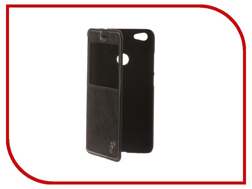 Фото Аксессуар Чехол Xiaomi Redmi Note 5A / Note 5A Prime G-Case Slim Premium Black GG-901 аксессуар чехол xiaomi redmi 5 plus g case slim premium black gg 918