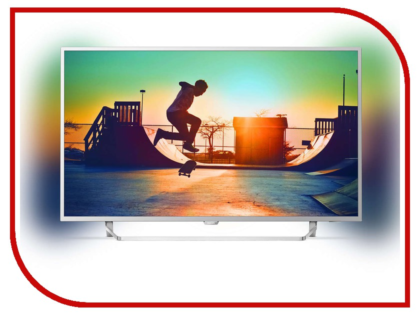 Телевизор Philips 55PUS6412 led телевизор philips 24pht4031 60