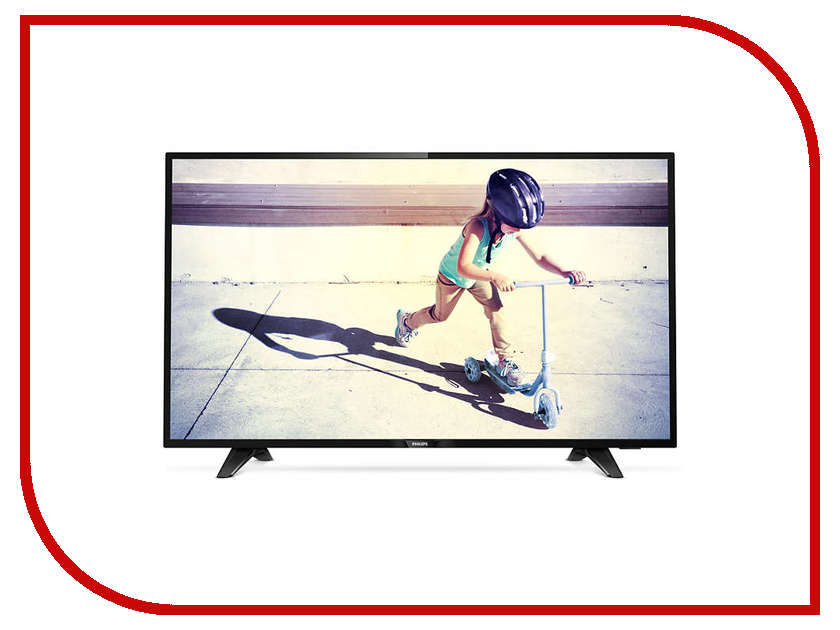 Телевизор Philips 43PFT4132 телевизор philips 49pus7100