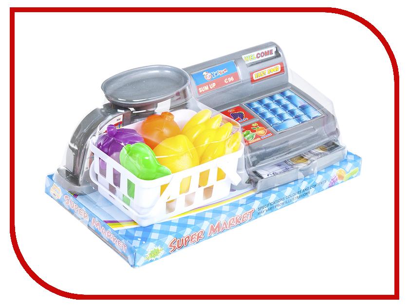 Игра Shantou Gepai Касса с весами 383-037 shantou gepai игрушка пластм касса электронная продукты сканер shantou gepai