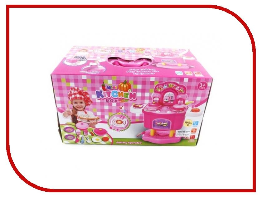 Игра Shantou Gepai Набор Кухня на ножках Pink 3557 игра shantou gepai утюг pink white 948