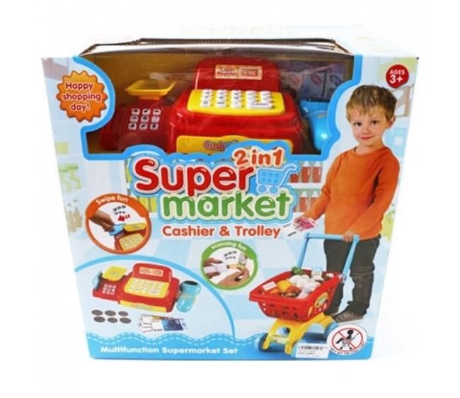 Игровой набор Shantou Gepai / Наша игрушка Супермаркет 6809