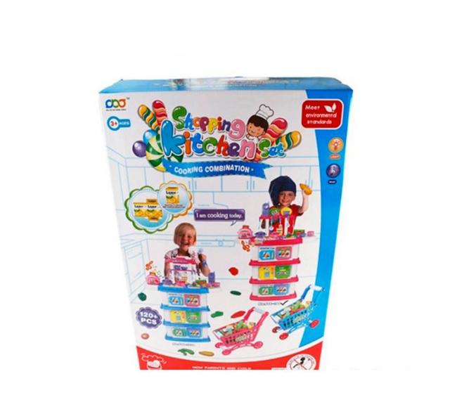 Игровой набор Shantou Gepai / Наша игрушка Повар 666-194