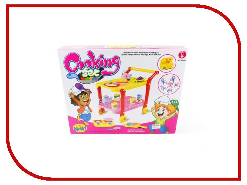 Игра Shantou Gepai Тележка сервировочная 66026 настольная игра shantou gepai аэрофутбол 5016