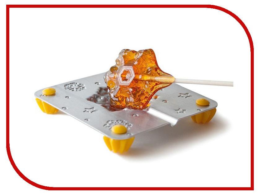 Набор для приготовления леденцов и мармелада Леденцовая фабрика Снежинка Mix 2769473 трафарет на кофе и десерты леденцовая фабрика смайлик 1 диаметр 10 см