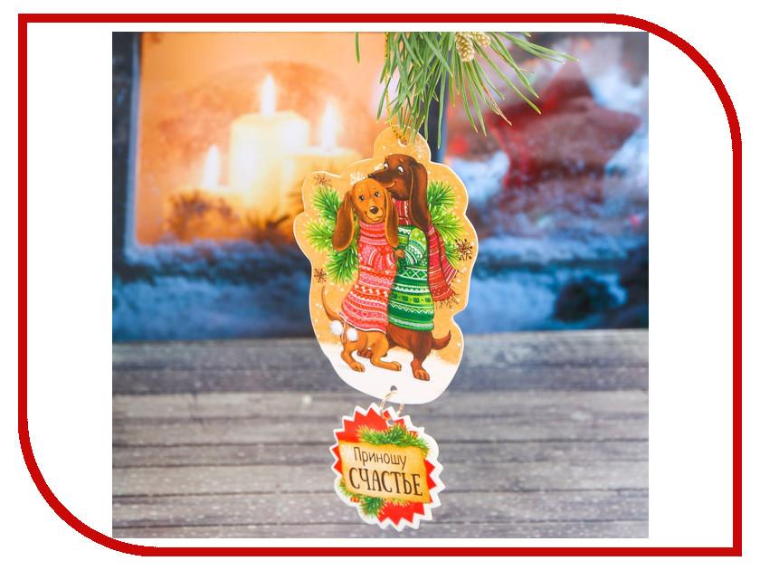 Украшение СИМА-ЛЕНД Набор новогодних подвесок Парочка 2шт 2268140 вентилятор сима ленд 12 в 2856852