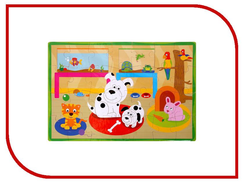Развивающий коврик СИМА-ЛЕНД Домашние животные Mix 1215203 развивающий коврик baby mix мишка на волнах 3261ce 62104