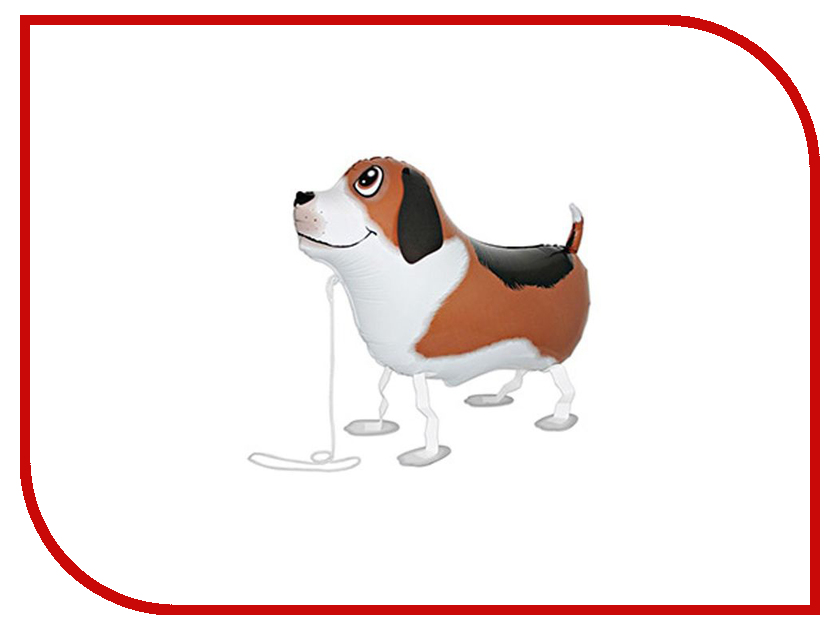 Шар фольгированный Grabo Собака Brown 1378090 action шар фольгированный сердце цвет красный