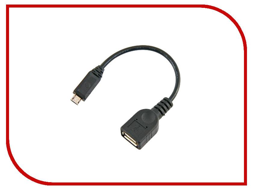 Аксессуар Glossar OTG USB-microUSB 15cm 62551