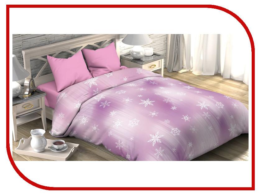 Постельное белье Этель Морозко Комплект 2 спальный Поплин 2690303 постельное белье этель зеленый сад комплект 1 5 спальный поплин 1534721