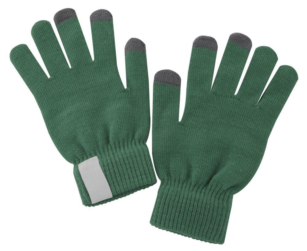 Теплые перчатки для сенсорных дисплеев Проект 111 Scroll Green 2793.90