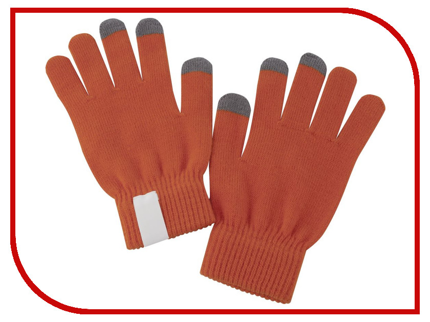 Теплые перчатки для сенсорных дисплеев Проект 111 Scroll Orange 2793.20 тетрадь школьная би джи пиши красиво 12 листов косая линейка скрепка в ассортименте