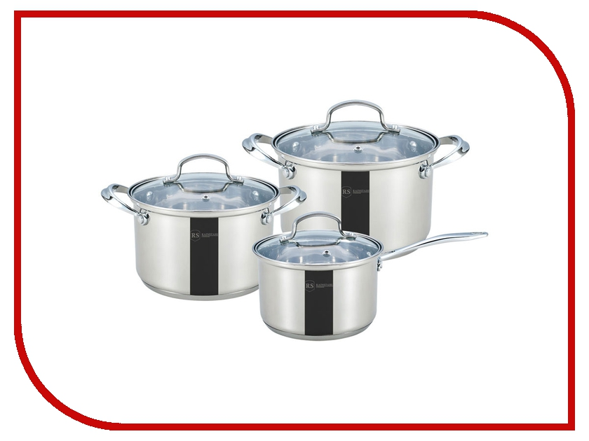 Набор Rainstahl 1616-06RS/CW набор посуды rainstahl 8 предметов 1230 08rs cw bk