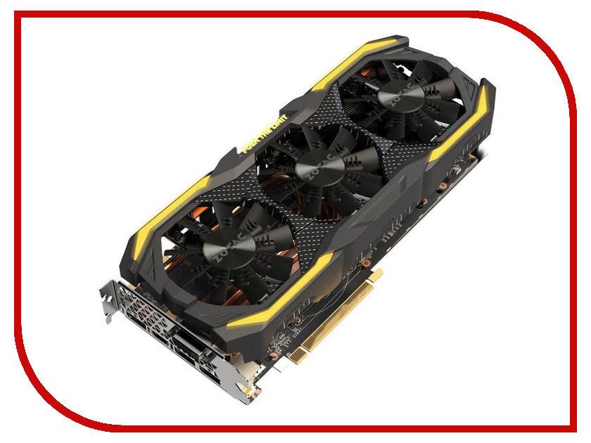 Видеокарта Zotac GeForce GTX 1070 Ti Amp! 1607Mhz PCI-E 3.0 8192Mb 8000Mhz 256 bit 3xDP DVI HDMI HDCP ZT-P10710B-10P