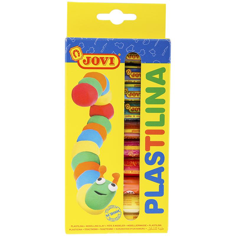 Набор для лепки JOVI Пластилин 10 цветов 150г 90/10