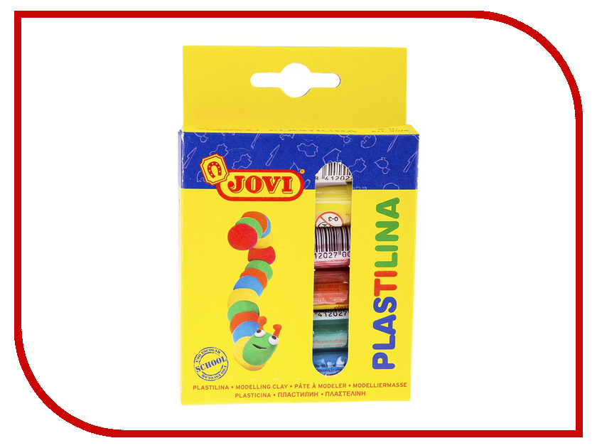 Набор для лепки JOVI пластилин 6 цветов 90г 90/6 jovi набор мягкой пасты и аксессуаров для лепки огород