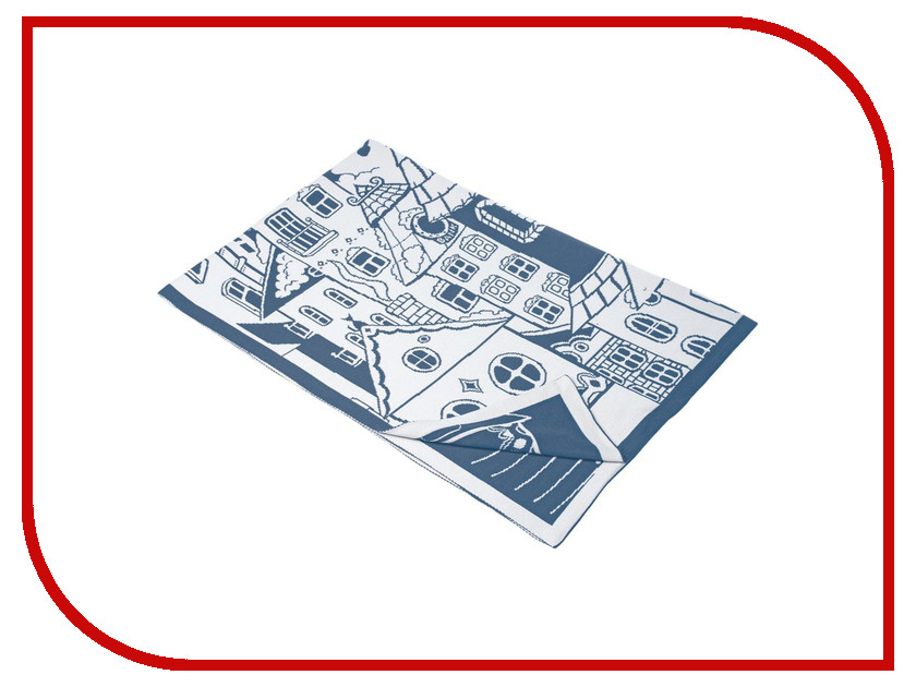 Плед Teplo Город Blue-White 1338.40 все цены