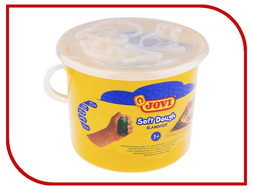Набор для лепки JOVI Тесто для лепки 4 цвета 50г 444 jovi набор мягкой пасты и аксессуаров для лепки огород
