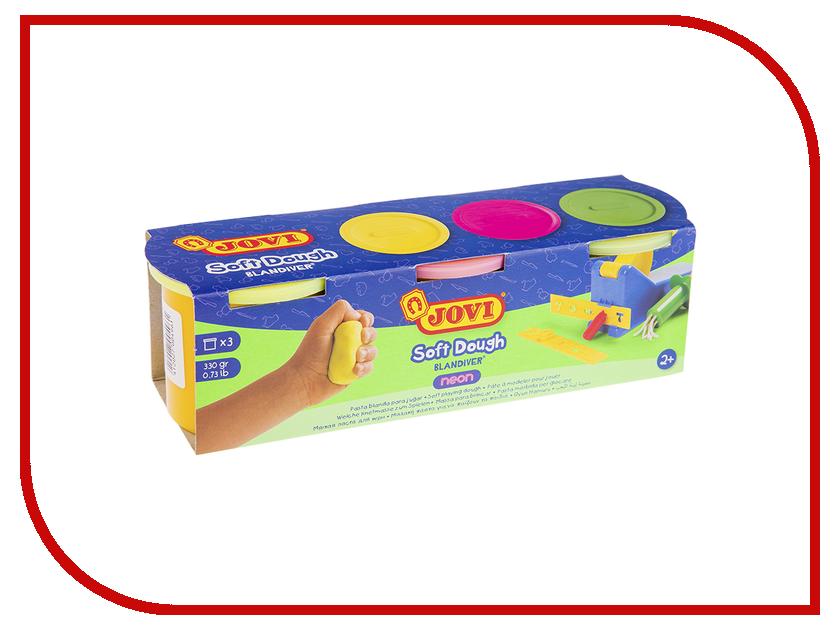 Набор для лепки JOVI Тесто для лепки 3 цвета 110г 403F масса для лепки candy clay набор круассан