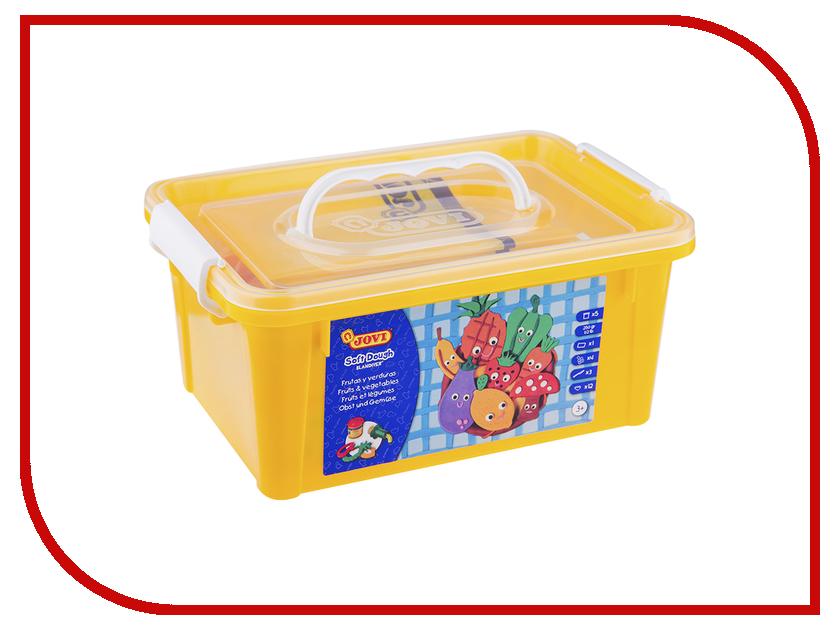 Набор для лепки JOVI Огород 05 цветов 50гр 476 jovi набор мягкой пасты и аксессуаров для лепки огород