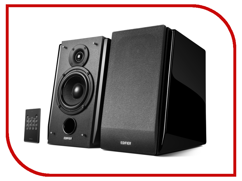 Колонка Edifier R1850DB Black bluetooth speaker edifier r1850db active bookshelf speakers optical input digital audio portable music audio line