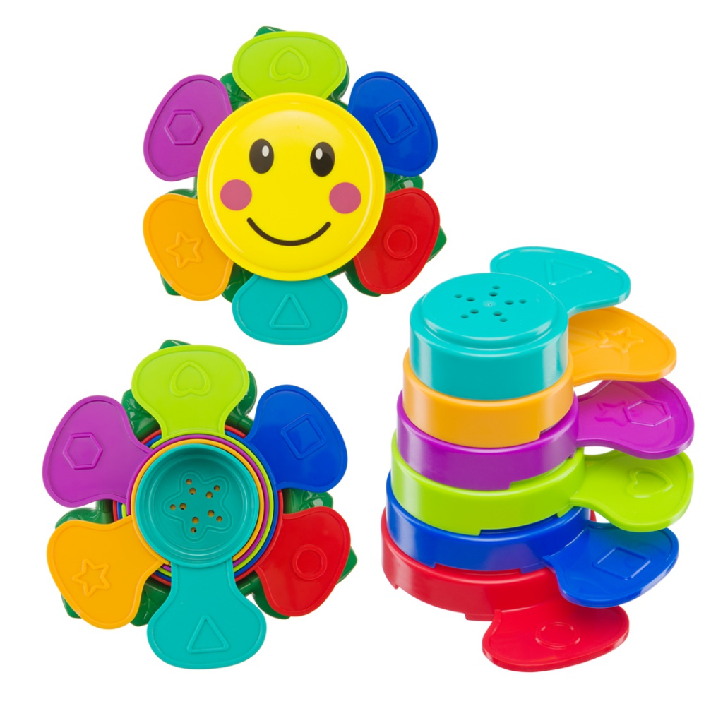 Игрушка Happy Baby Flower Puzzle 4690624019357 cognitive letter puzzle baby toys wooden 3d metal puzzle educational recognize 26 letters colorful card to help baby study