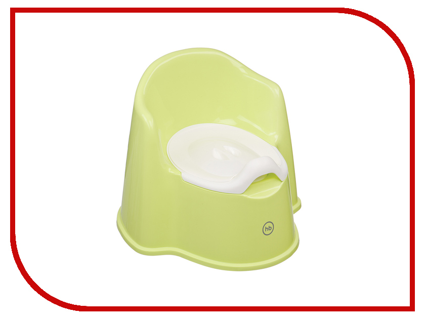 Горшок Happy Baby Zozzy Green 4690624021060 качели шезлонг happy baby nesty green 3591